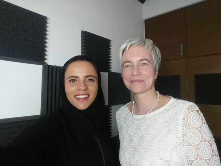 Hanady alhashmi and nathalie gillet