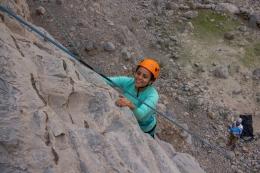 CLIMBING IN RAS ALKHAIMAH