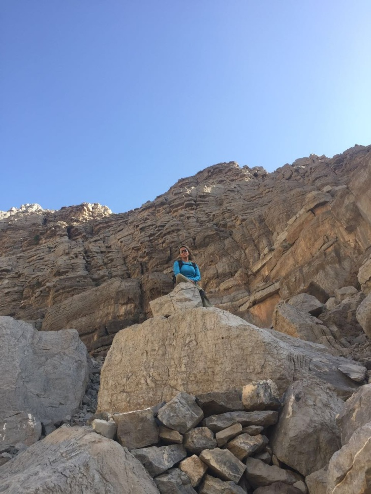 hanady alhashmi hiking