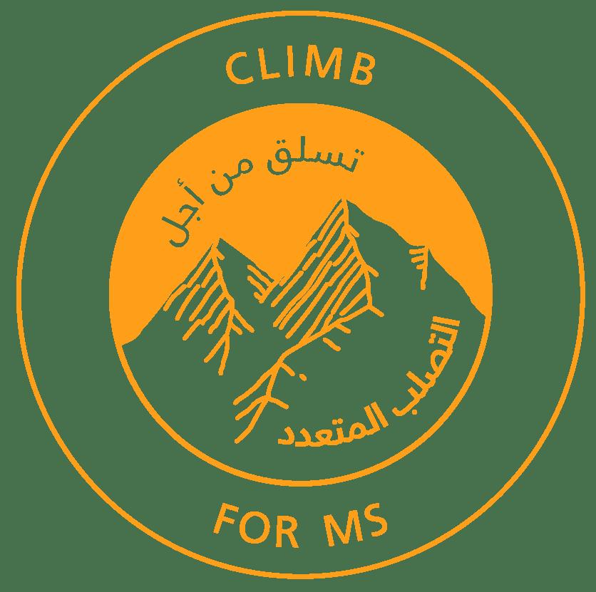 climb for ms logo